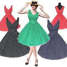 Maggie Tang 50s 60s Vintage Drancing Rockabilly Ball Gown Prom Party Dress 514