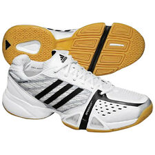 Adidas Velleio Mens Volleyball Shoes White Black Silver