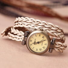 New Russian Style Vintage Weave Headmade Fashion Women Watch Quality Hot Sell