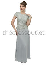 New Mother of the Bride Groom Dress Formal Plus Size Simple Wedding Event Party