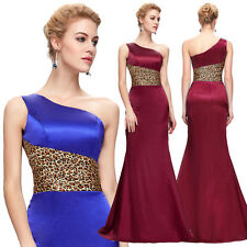 2013 Long Satin Bridesmaid Evening Formal Party Ball Gown Prom Wedding Dresses