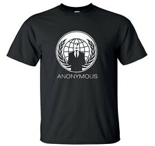 ANONYMOUS T SHIRT, Occupy  99% V for VENDETTA Conspiracy Guy Fawkes Disobey