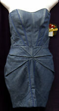 NEW AUTHENTIC WOMEN APPLE BOTTOMS JEAN SYTLE DRESS SIZE 1/2