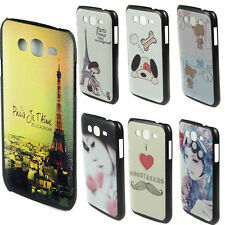 1/7 New Cute Cartoon Pattern Hard Case Cover for Samsung Galaxy Grand Duos i9082