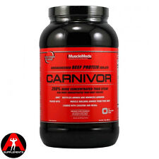 MuscleMeds Carnivor 908g 2lb Beef Protein Lean Mass  All Flavours + Free Sample