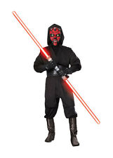 DELUXE STAR WARS DARTH MAUL ADULT COSTUME FANCY SUIT