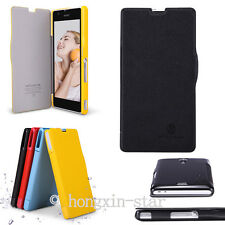 Nillkin Colourful PU Leather & PC Flip Cover Case For Sony Xperia ZR M36h C5502