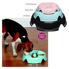 "ProSelect ""The Control"" Go Slow Feed Food Bowl for Dogs Non Skid"