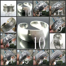 ! Beautiful!12 style Tibetan Tibet Silver Totem Bangle Cuff Bracelet