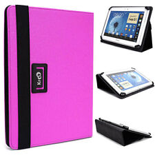 "New! 10"" Kroo U2 Universal Adjustable Folio Stand Cover for Tablets & E-Readers"