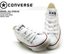 NEW CONVERSE AS CHUCK TAYLOR OX M7652 WHITE LOW TOP CANVAS SHOES MEN