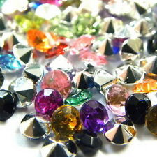 26-Colors Choices 17SS 32PP Rhinestone Diamante Pointed Back 4mm Crystal B0198