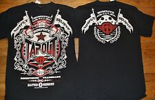 "Tapout ""LABELED"" 2 Sided Graphic T-Shirt MMA FIGHT CLUB, THROWDOWN"