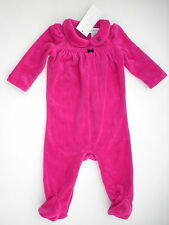 baby girls pretty BABYGROW w/feet COVERALL by RALPH LAUREN 3/6M Pink BNWOT