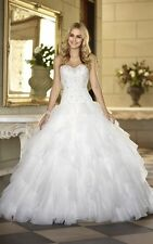 New Sweetheart Wedding Dresses Gorgeous Bridal Ball Gowns Custom/Standard Size