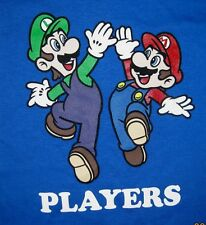 Mario Luigi Super Mario Brothers Officially Licensed Nintendo T-Shirt 2T, 3T 4T