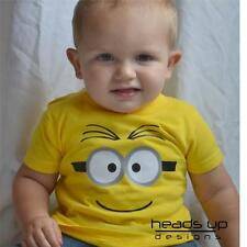 Minion Shirt Despicable Me Costume Boy Girl Baby Onesie Newborn Kid Adult