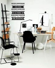 Family Blessing Wall Sticker Decal