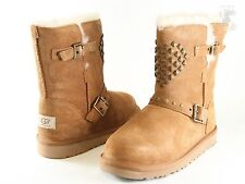 UGG Australia Adrianna Kids / Women 1003196 Chestnut Suede 100% Authentic New