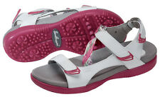 SandBaggers Tango Berry White/Pink  Women's Golf Sandals New