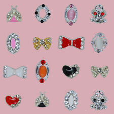 100PCS cell phone nail art supplies acrylic alloy decoration rhinestones jewelry