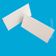 Place Name Cards - White Ivory Black Pink Blue - Weddings Parties Events