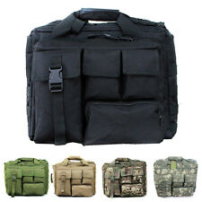Military Laptop Bag Advanced Tactical Messenger Computer Briefcase Side Multicam