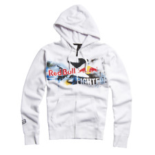 Fox Racing Men's X-Fighters Red Bull Negative Space Zip Fleece Hoodie Sweatshirt