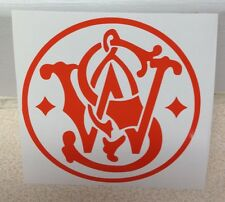 Smith & Wesson vinyl sticker decal NRA choose size and color