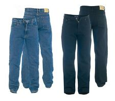 Mens Rockford Comfort Fit Stretch Denim Jeans Blue Black Waist Size 28 40 S R L