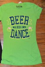 BEER MAKES ME DANCE JUNIORS T-Shirt Brew City Brand Tee Spencer's Funny Tee