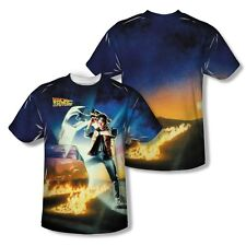 Back to the Future Movie Poster 2-Sided All Over Print Poly Tee Shirt S-3XL