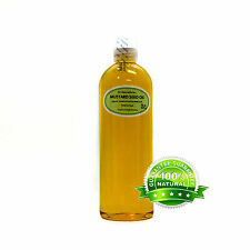 MUSTARD SEED OIL by Dr.Adorable PURE ORGANIC 2 oz 4oz up to gallon Free Shipping