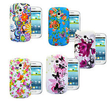 Flower Butterfly Silicone Rubber Gel Case Cover For Samsung Galaxy S3 Mini i8190