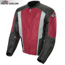 JOE ROCKET PHOENIX 5.0 MESH MOTORCYCLE RIDING JACKET WINE BLACK WATERPROOF LINER