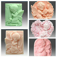 Various Silicone Mould Soap Candle Chocolate Resin Craft Molds Random Color