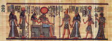 "Egyptian, Pharaonic, Authentic Papyrus Paint size 30x80 cm(12""x32"") , Variety"