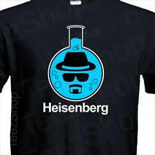 HEISENBERG baker Breaking Bad pure blue los pollos Walter White black T-Shirt