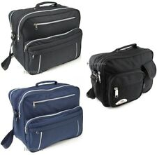MENS HOLDALL MESSENGER SATCHEL SHOULDER FLIGHT CABIN OVERNIGHT WORK TRAVEL BAG