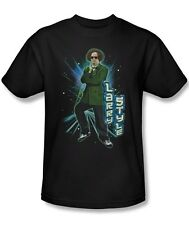 Three Stooges Larry Fine Dancing Larry Style Licensed Tee Shirt Adult S-3XL