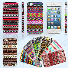 New Aztec Vintage Pattern Animal Tribal Printed Case Cover Back for Mobile Phone