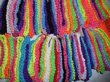 Wholesale 14 pcs Girls  Crochet Headband With 1.5 inch Acrylic choose color.