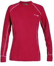 Trespass Basegirl Womens Long Sleeve Thermal QuickDry Wicking Baselayer Top Pink
