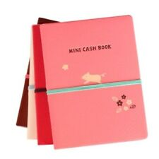 Kawaii Monopoly Mini Cashbook For 6 Months /w index sticker clear pocket