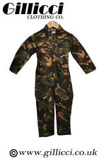 BlueCastle Tearaway Junior Kids Children Camo,Navy Coverall Overall Boiler Suite