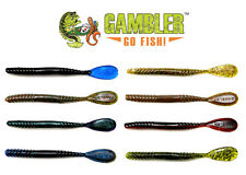 "GAMBLER FLAPPIN TAIL 5"" (12 PACK) choose colors"