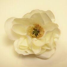 NEW ANEMONE ARTIFICIAL FLOWER HAIR CLIP/PIN BROOCH