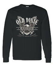 MEN'S LONG SLEEVE SHIRT Old Dixie Authentic Clothing SOUTHERN PRIDE EAGLE S-5X