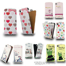 Stylish PU leather cute flip case cover for Apple iPhone 5C + SCREEN PROTECTOR
