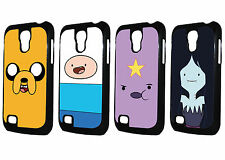 Adventure Time With Finn And Jake Character Samsung Galaxy S4 MINI Black Case